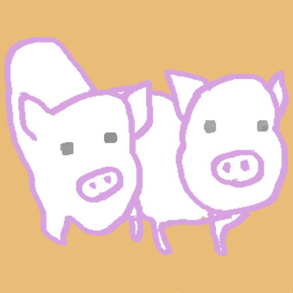 豚イメージ2沖野