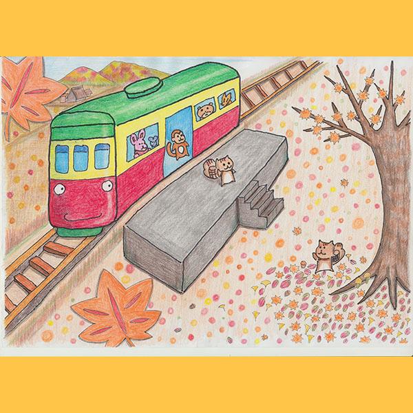 どうぶつ列車11月