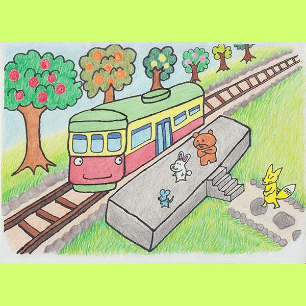 どうぶつ列車5月